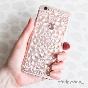 3D Diamond Kaleidoscope iPhone Case